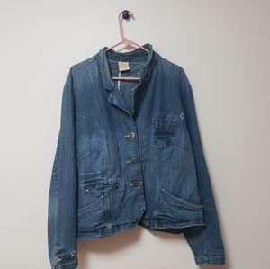 Jessica Simpson Plus Size Jean Jacket 26/28 W
